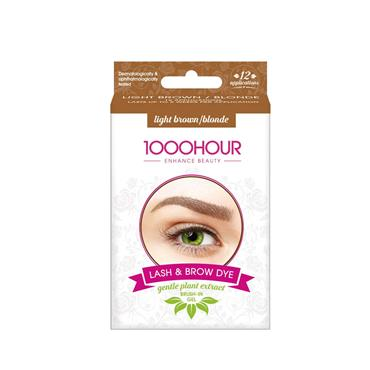 LASH & BROW DYE light brown