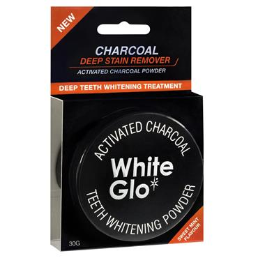 WHITEGLOW CHARCOAL TEETH WHITENING POWDER