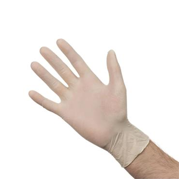 VELOCITY LATEX POWDER FREE GLOVES MEDIUM