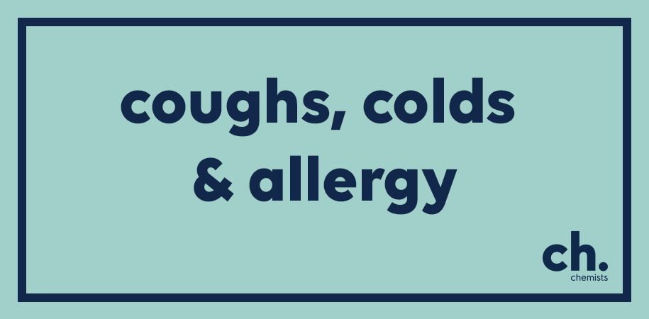 coughs and cold treatments