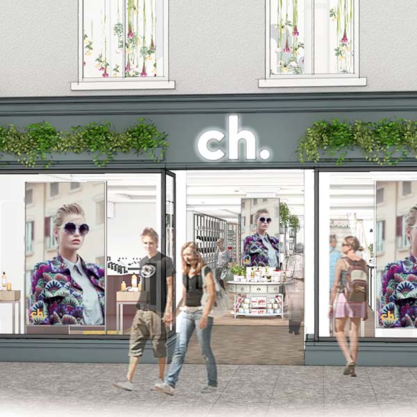 CH Tralee shop front rendering