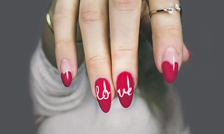 Trendy manicure