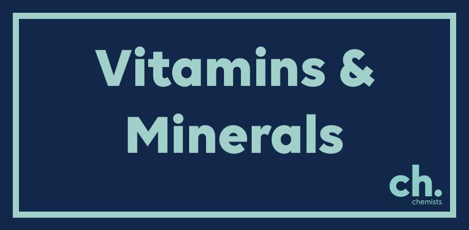 Vitmains & Minerals