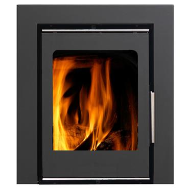 Firewarm 6Kw Cassette Door With Glass V2