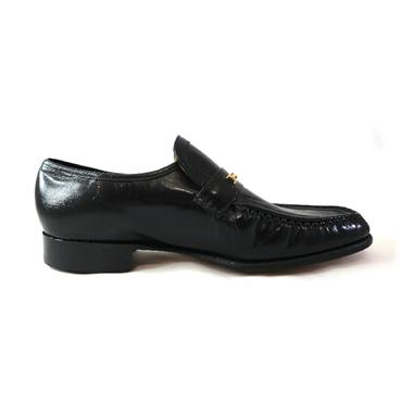 30 BARKER LAURIE FROMAL SHOE - SIZE 8 - BLACK KID