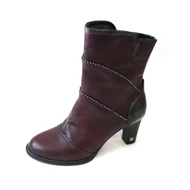 11 MUSTANG - BORDO MIDI BOOT - Size 40 - WINE