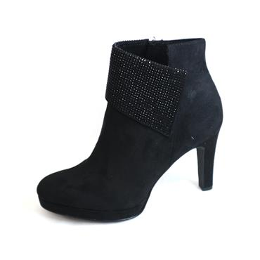 15 TAMARIS HIGH ANKLE BOOT - SIZE 36 - BLACK