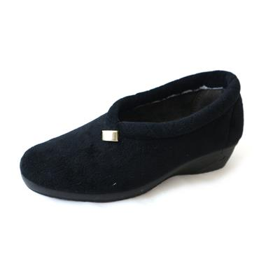7 LUNAR SLIPPER - SIZE 4 - BLACK