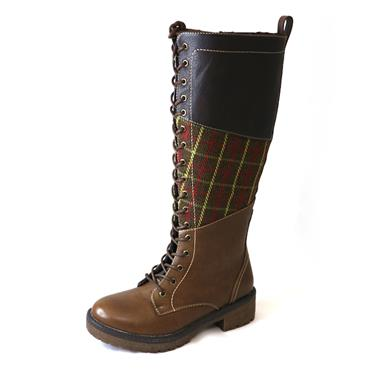 3 HF - BROWN KNEEHIGH BOOT - Size 3 - BROWN