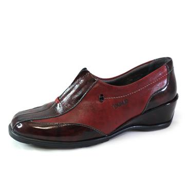 18 SUAVE BURGUNDY SUAVE SLIP ON SHOE - WINE