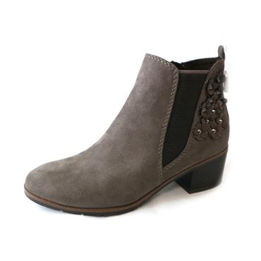 27 MARCO TOZZI ANKLE BOOT - SIZE 36 - GREY