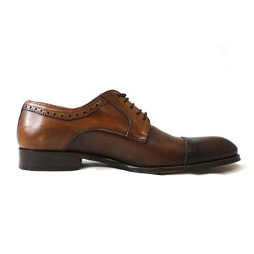 6 ROBERTO LEY BROWN FORMAL - SIZE 43 - BROWN