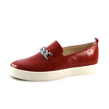 NO12 CAP - RED SLIP ON - 36 - RED