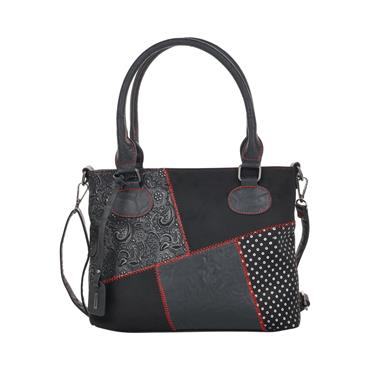 5 REMONTE VIRAGE BAG - BLACK