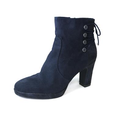 14 TAMARIS HIGH ANKLE BOOT - NAVY