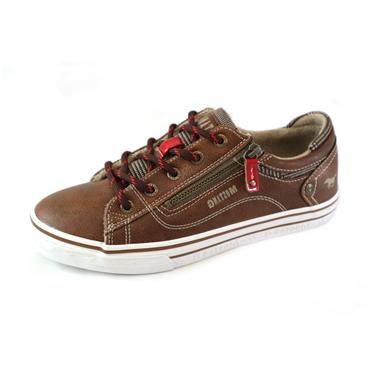 6 MUSTANG BROWN SNEAKER - BROWN