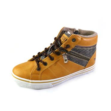 8 MUSTANG SNEAKER BOOT - YELLOW