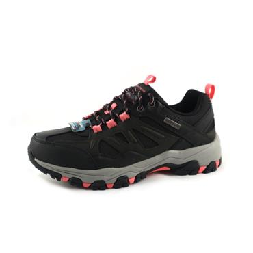 NO12A SKECHERS WALKING SHOE LADIES - BLACK