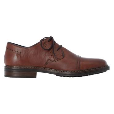 10 RIEKER CLARINO LACED FORMAL SHOE - BROWN