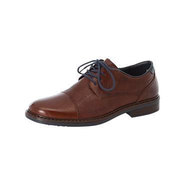 14 RIEKER CLERMONT FORMAL LACED SHOE - BROWN
