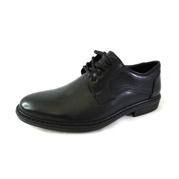 5 RIEKER NERO LACED FORMAL SHOE - BLACK