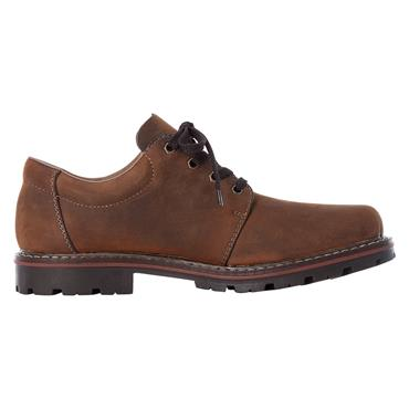 18 RIEKER BURMA LACED SHOE W/ THICK SOLE - BROWN