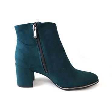 5 MARCO TOZZI PETROL ANKLE BOOT - BLUE