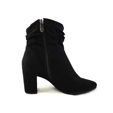12 MARCO TOZZI DRESSY ANKLE BOOT - BLACK