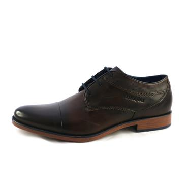 NO8A FORMAL LACED SHOE - BROWN