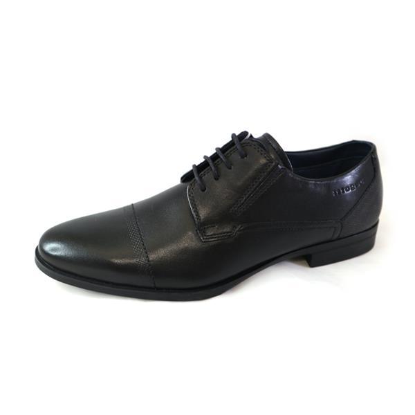 bugatti black formal shoes
