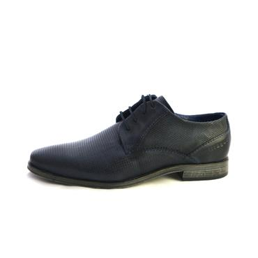 NO11 NAVY LACED FORMAL SHOE - NAVY