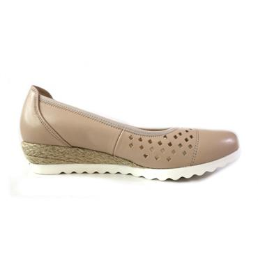 66 GABOR JUTE PUMP - NATURAL