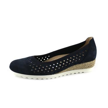 NO61 GABOR SOFT BLUE PUMP - NAVY