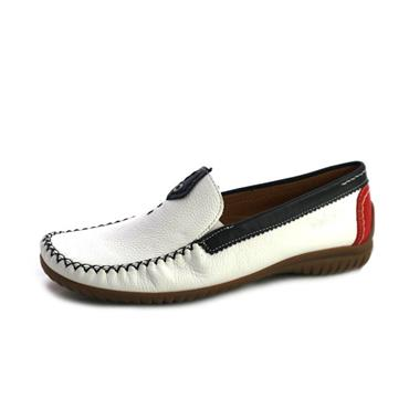 NO67A GABOR WEISS MOCASSIN - WHITE