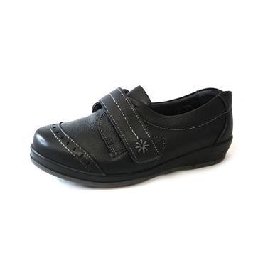6 SUAVE GRACE BLACK VELCRO STRAP - BLACK