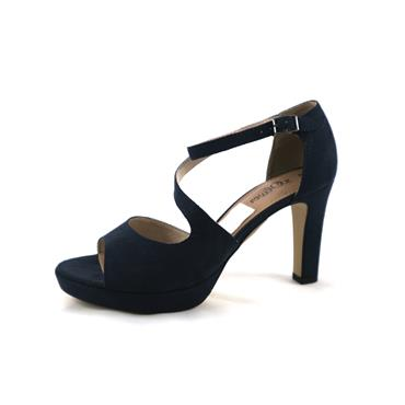 NO5 S.OLIVER NAVY DRESS SANDAL - NAVY