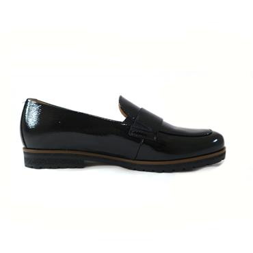 48 GABOR FLORENZ WRINKLE LOAFER - BLACK