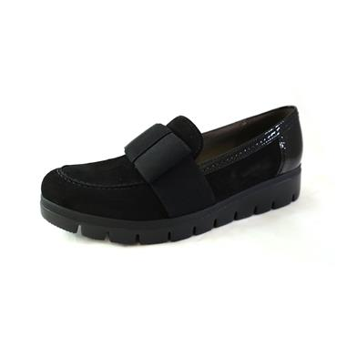 56 GABOR LOAFER W/ THICK SOLE - BLACK