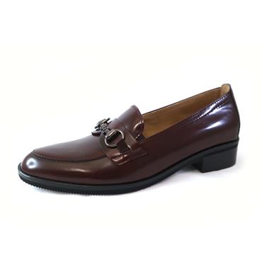 41 GABOR BRUSH OFF CHIANTI LOAFER - WINE