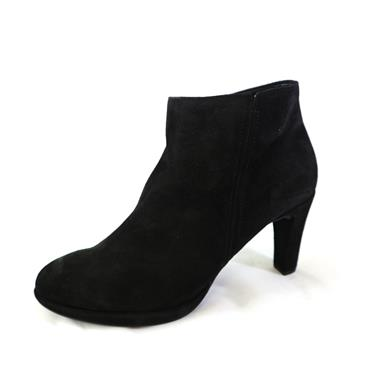 54 GABOR YANG ANKLE BOOT W/ HIGH HEEL - BLACK