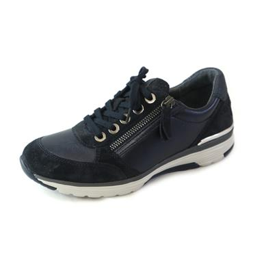 33A GABOR HENSHAW NIGHT BLUE TRAINER - NAVY