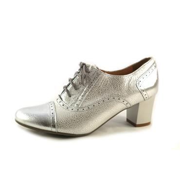 NO2A ARKA - GREY BROGUE - SILVER