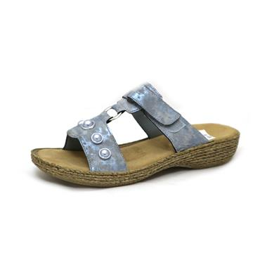 NO 57 RIEKER LIGHT BLUE SANDAL - BLUE