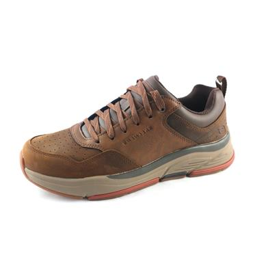 No8 SKECHERS BROWN TRAINER - BROWN