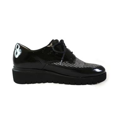 13 WALDLAUFER FLORENZ LACED SHOE - BLACK