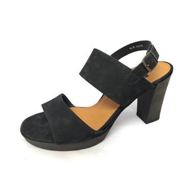 No 8 BLACK DRESS SANDAL - BLACK