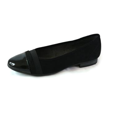1 JANA SOLFTLINE PUMP - BLACK