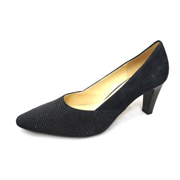 No59A GABOR COURT SUEDE STUDS - NAVY