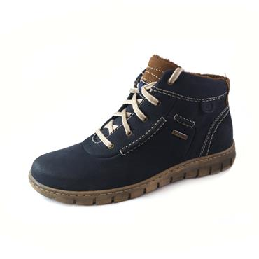 6/6A  JOSEF  SEIBEL BORDO  LACED SHOE - NAVY