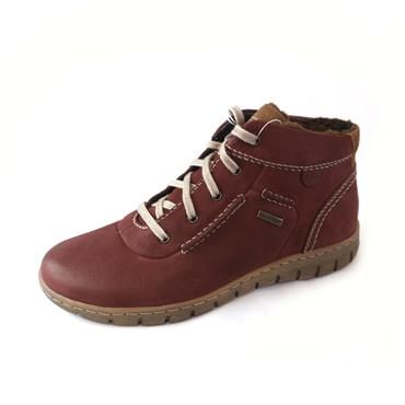 6/6A  JOSEF  SEIBEL BORDO  LACED SHOE - WINE